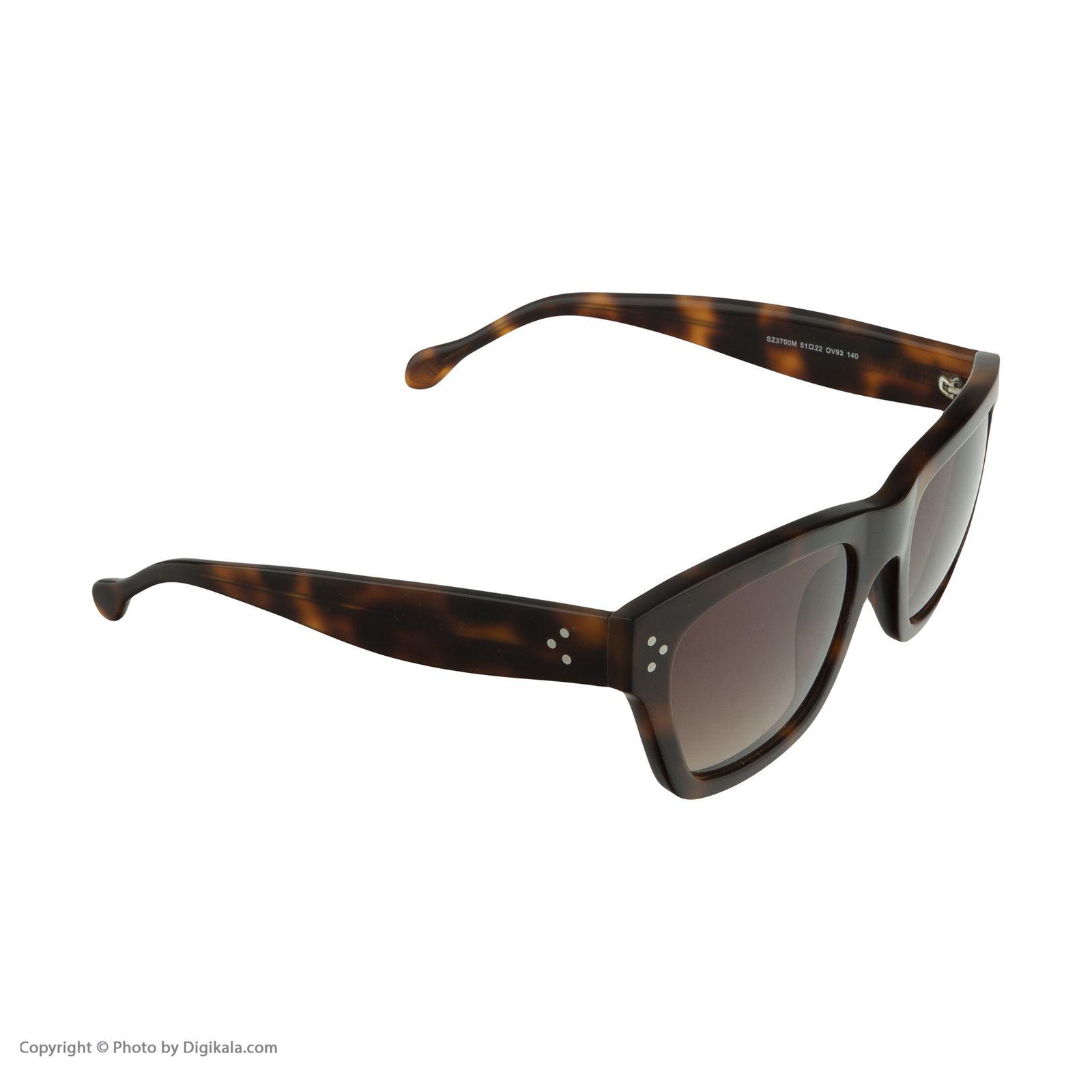 عینک آفتابی ارمنگیلدو زگنا مدل 3700 -  - 4