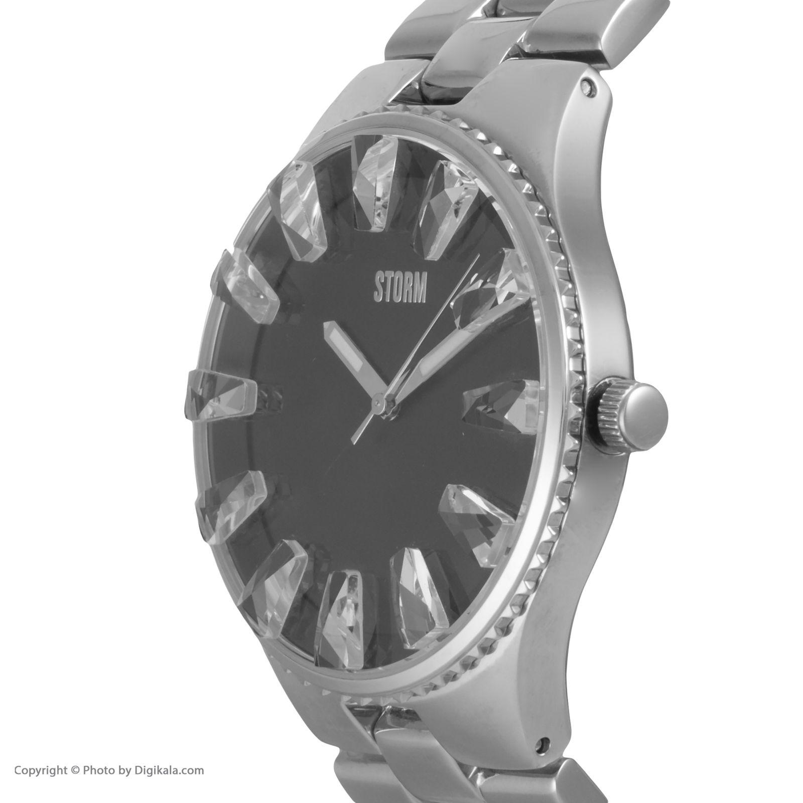 ساعت مچی عقربه ای زنانه استورم مدل ST 47149-BK -  - 5