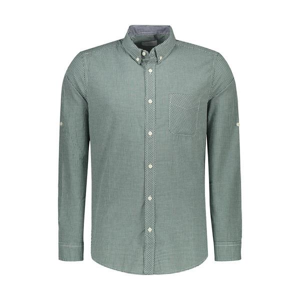 پیراهن آستین بلند مردانه کالینز مدل CL1032264-GRN