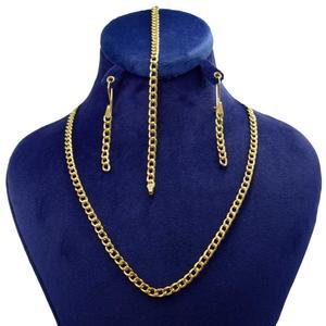 نیم ست طلا 18 عیار زنانه کانیار گالری مدل HFS1