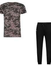 ست تی شرت و شلوار مردانه کد 111213-4 -  - 2