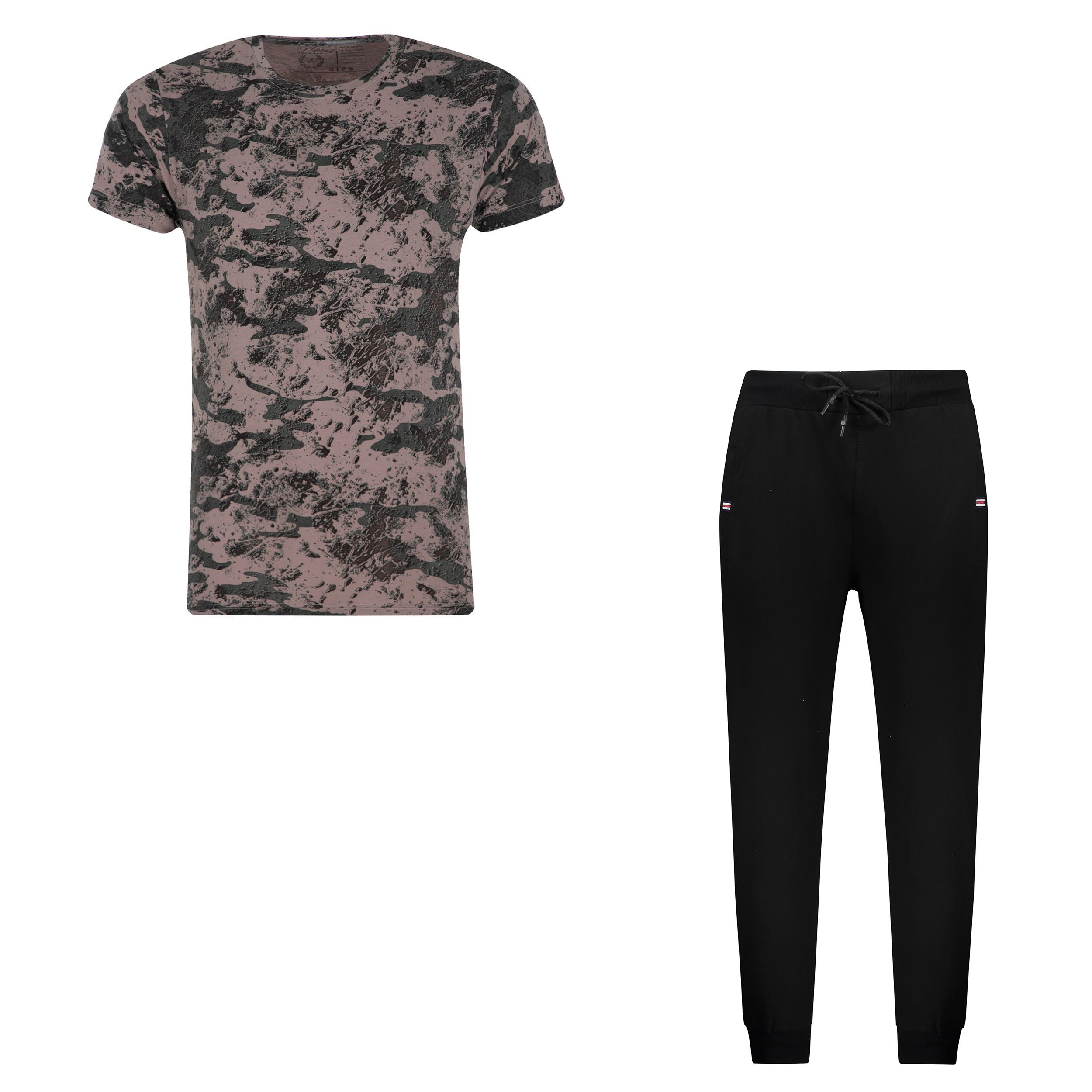 ست تی شرت و شلوار مردانه کد 111213-4 -  - 3