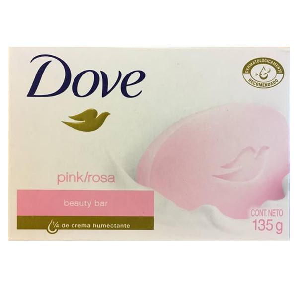 صابون زیبایی داو مدل PINK ROSE مقدار 135 گرم
