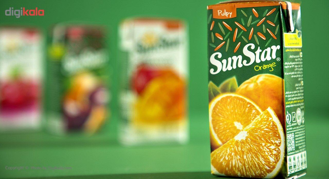 نوشیدنی پالپ دار پرتقال سان استار حجم 0.2 لیتر main 1 1