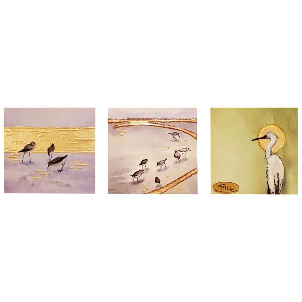 تابلو بوم سارا باقرپور مدل پرندگان