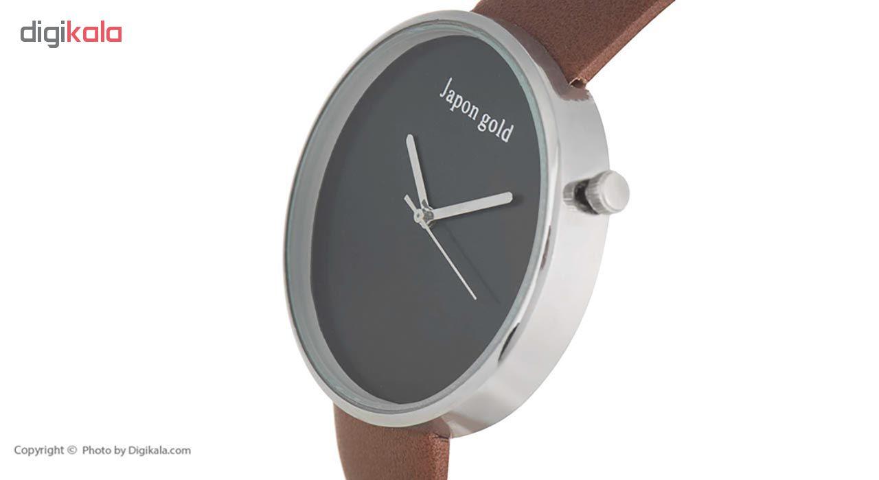 ساعت مچی عقربه ای ژاپن گلد مدل BL05