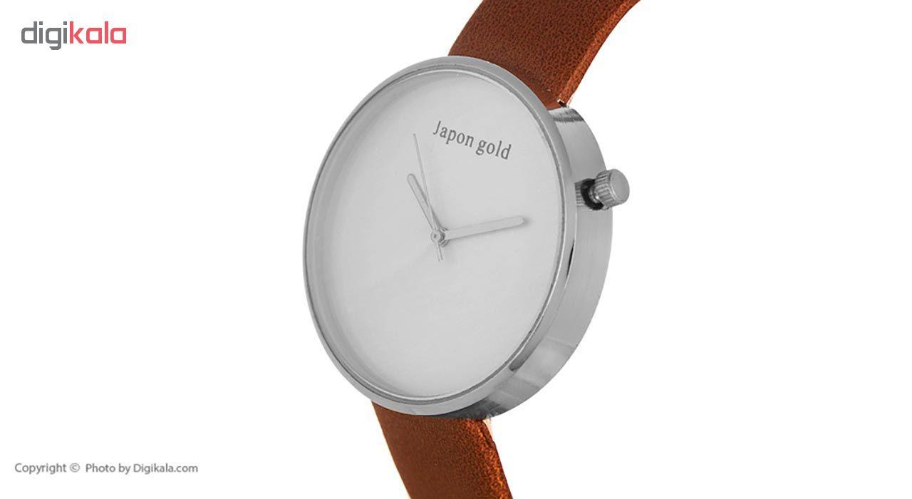 ساعت مچی عقربه ای ژاپن گلد مدل BL010