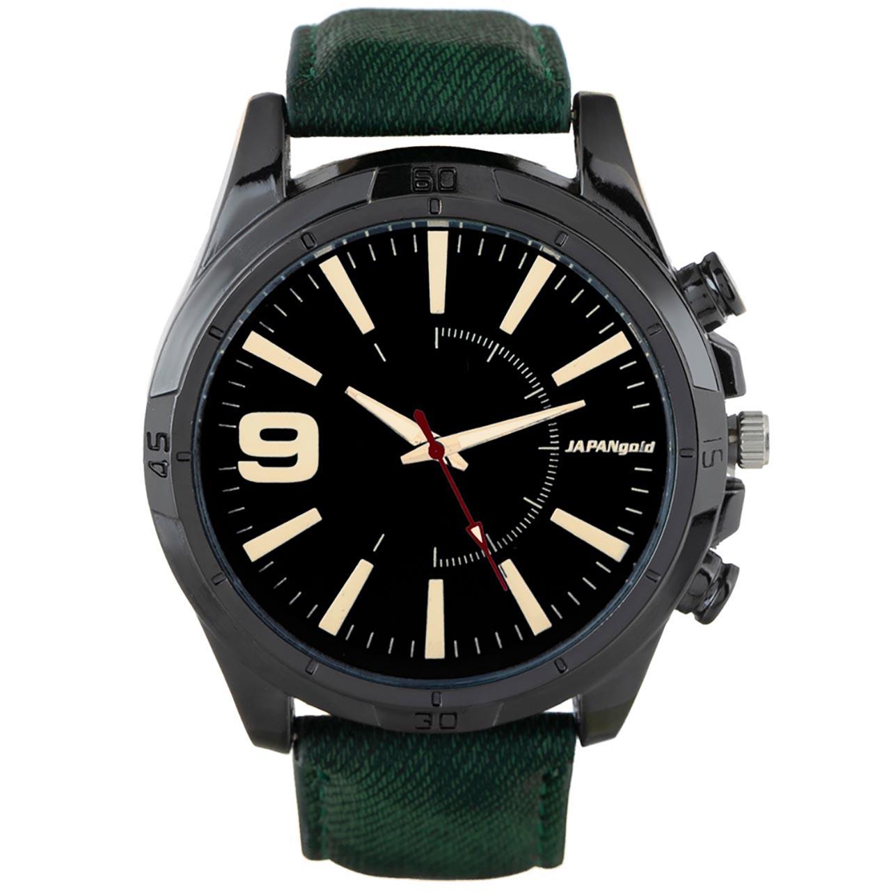 ساعت مچی عقربه ای ژاپن گلد مدل BZ01
