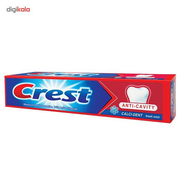 خمیر دندان کرست مدل Cavity Prot fresh Mint حجم 125 میلی لیتر