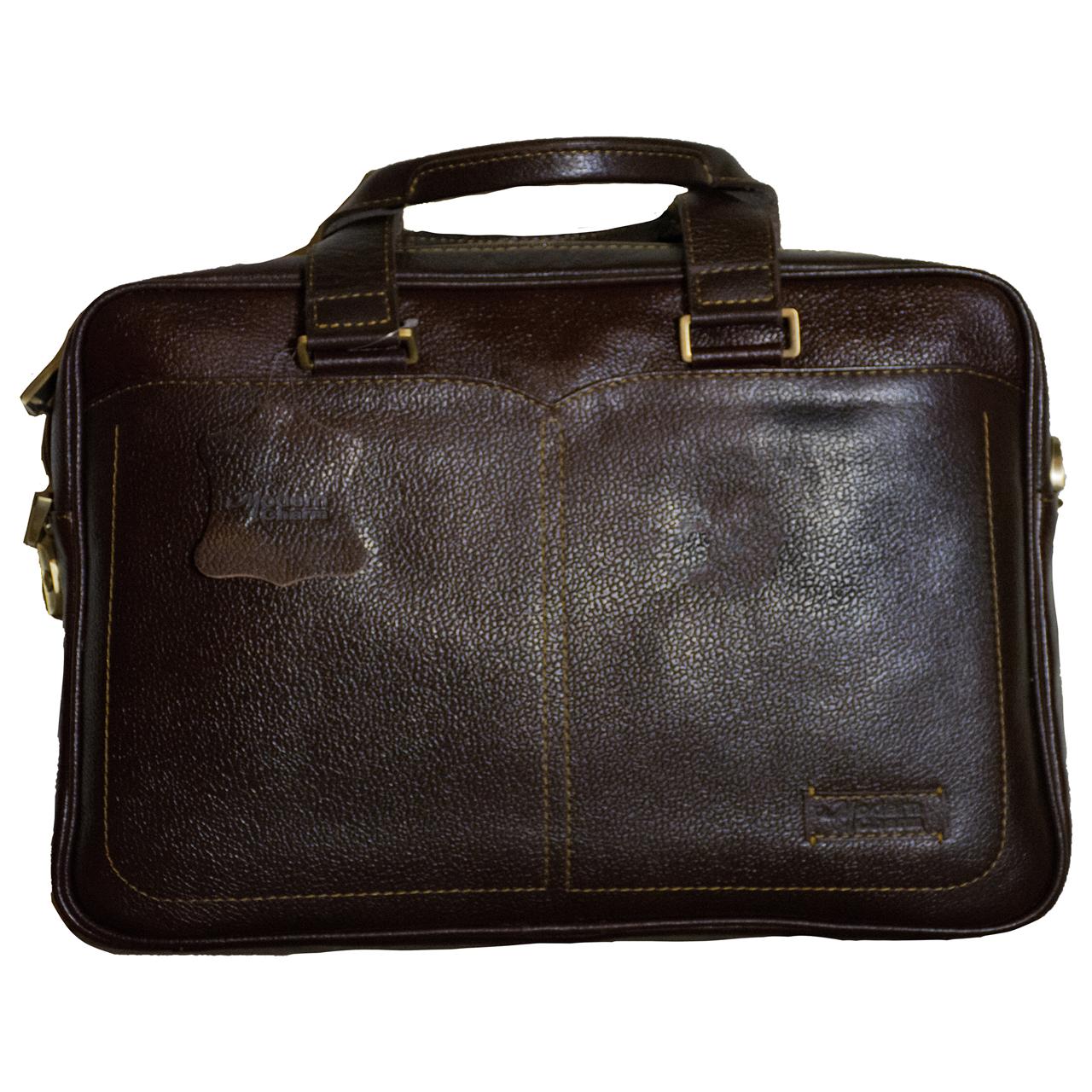 کیف اداری مردانه مدرن چرم مدل 201