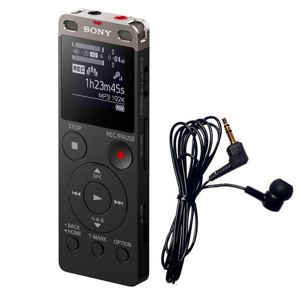 ضبط کننده صدا سونی مدل ICD-UX560F به همراه میکروفون مدل Tele mic