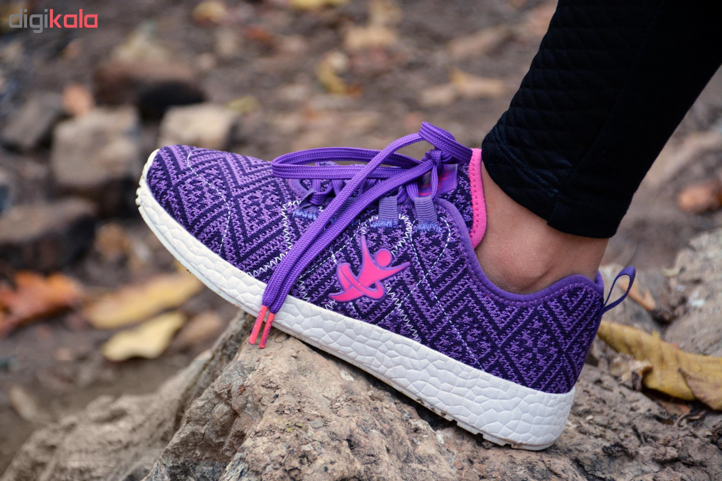 کفش مخصوص دویدن زنانه تن زیب مدل TRF9601