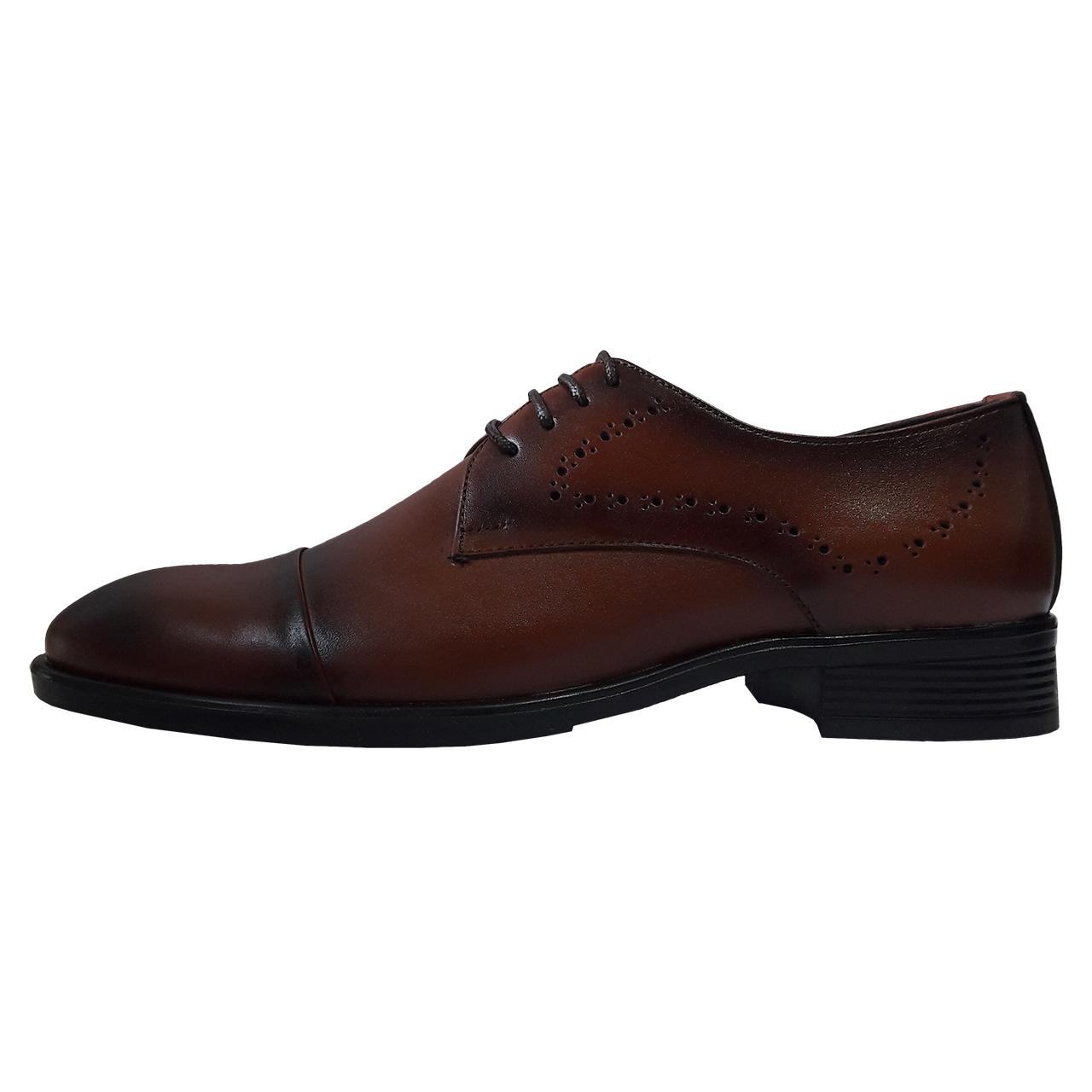 کفش مردانه مدل Lecco brown01