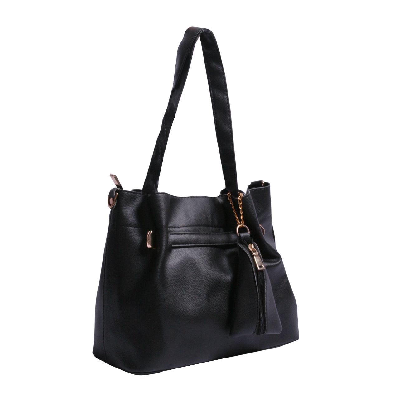 کیف دستی زنانه مدل ISA-BLACK