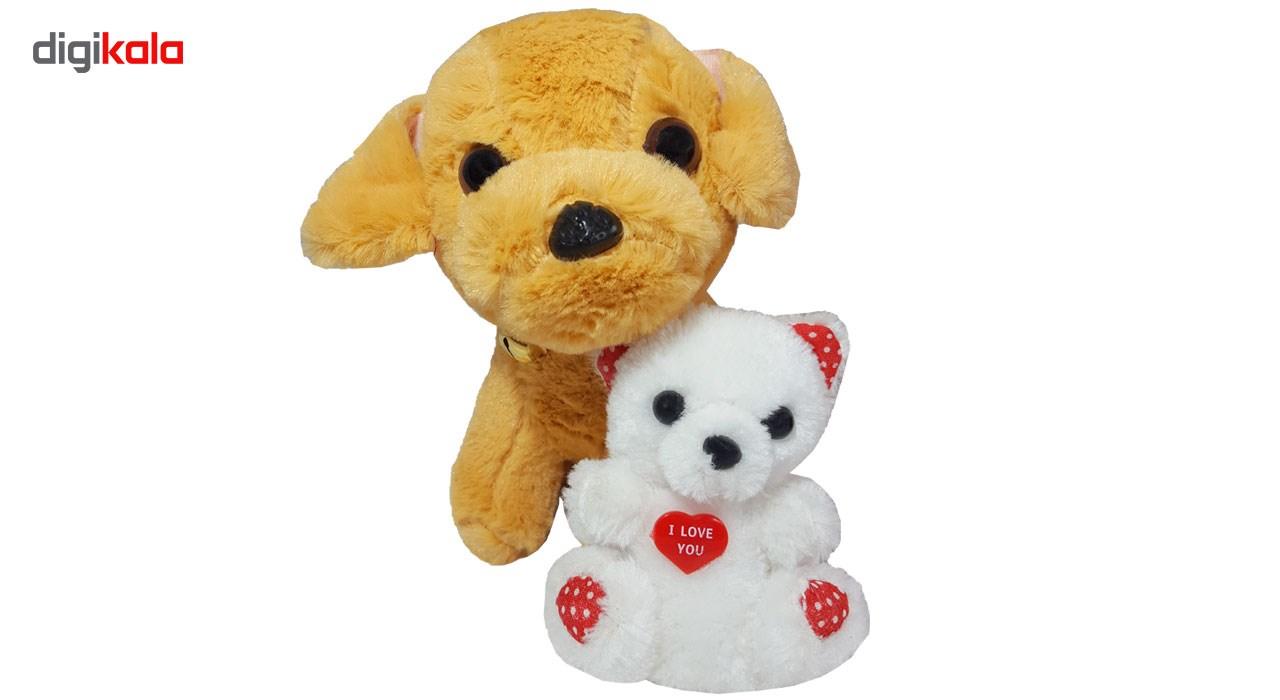 ست کادویی شیانچی طرح سگ و خرس کد 14010042 thumb 2 2