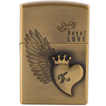 فندک مدل ROYAL LOVE کد 101