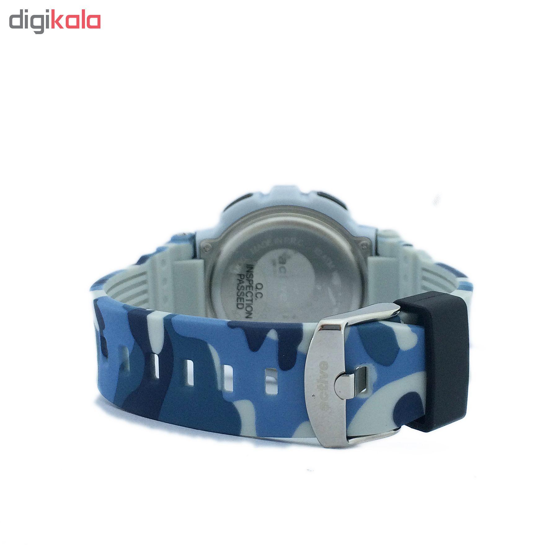 ساعت مچی دیجیتالی اکتیو مدل YP16721E