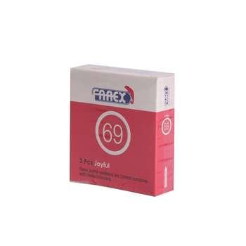 کاندوم فارکس مدل Joyful بسته 3 عددی
