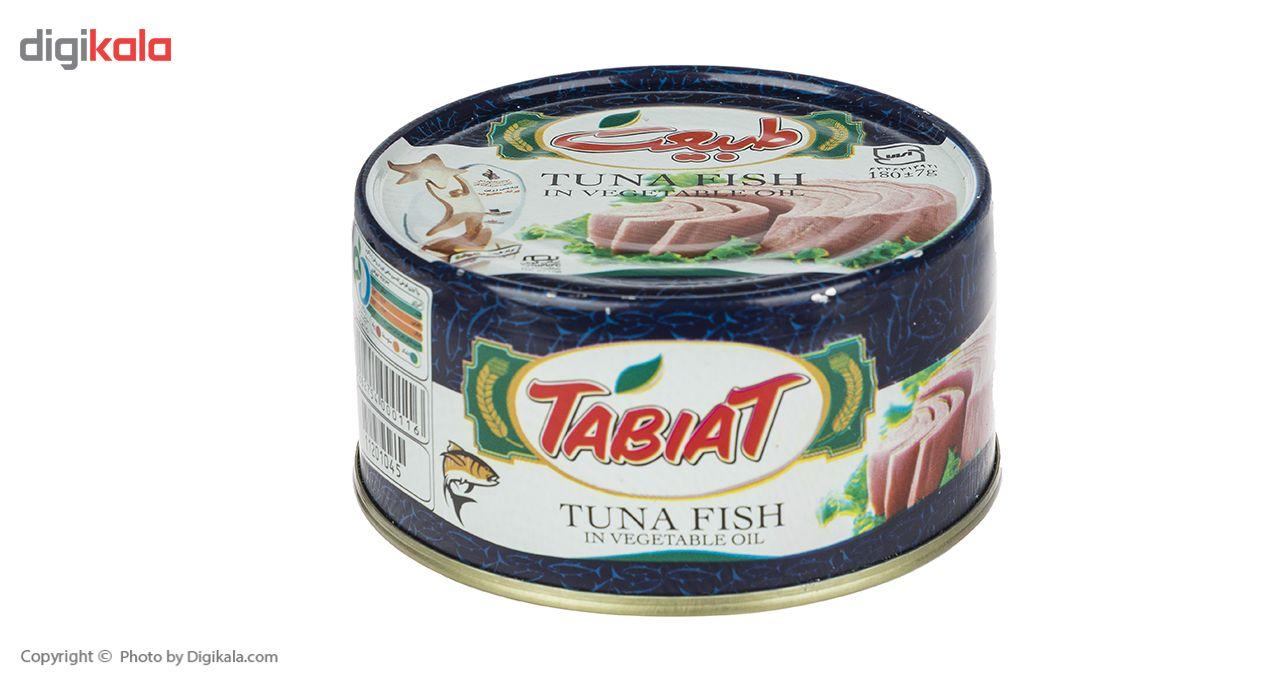 کنسرو ماهی تون در روغن گیاهی طبیعت - 180 گرم main 1 2