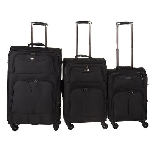 مجموعه سه عددی چمدان کامل مدل 6040