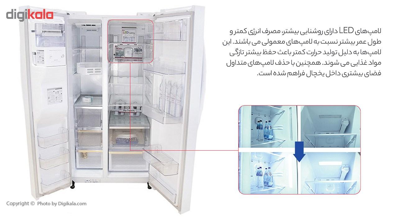 یخچال و فریزر سامسونگ مدل ROSSO2