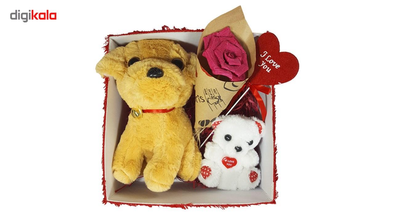 ست کادویی شیانچی طرح سگ و خرس کد 14010042 thumb 2 6