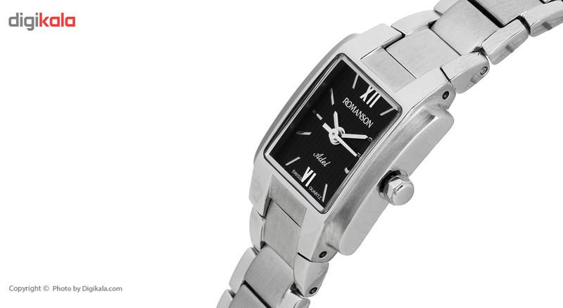 ساعت مچی عقربه ای زنانه رومانسون مدل TM5596LL1WA32W