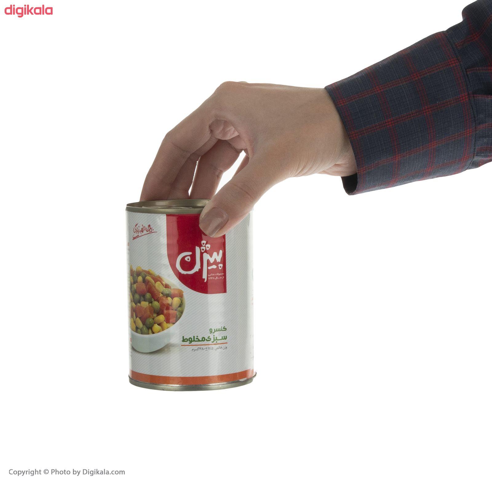 کنسرو سبزی مخلوط بیژن - 380 گرم main 1 4