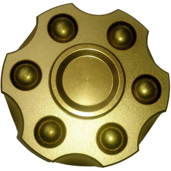 اسپینر دستی مدل خشاب هفت تیر Revolver Gold