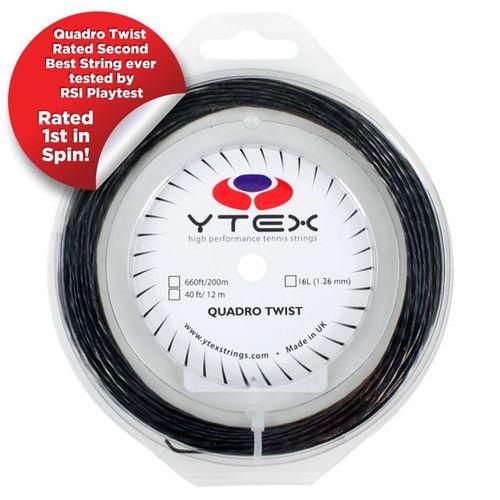 زه راکت تنیس وای تکس مدل Quadro Twist 16