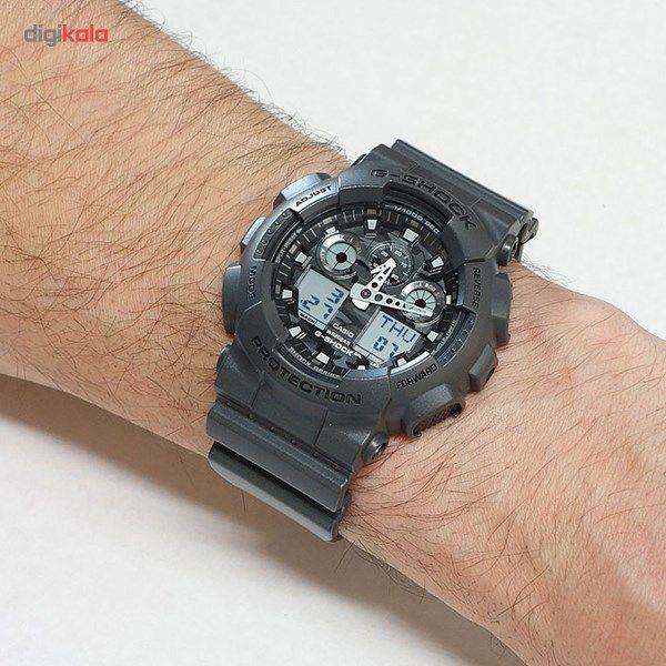 ساعت مچی عقربه ای مردانه کاسیو جی شاک مدل GA-100CF-8ADR -  - 3