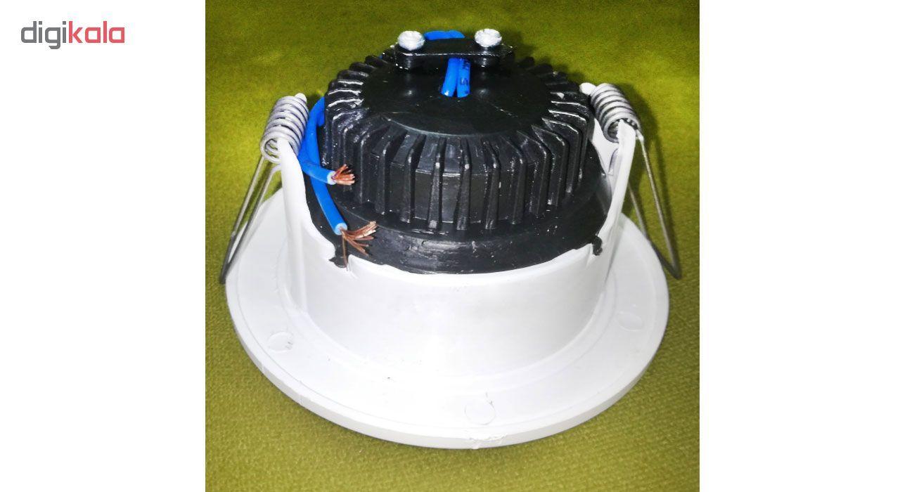 لامپ هالوژن ال ای دی سقفی توکار کد 034 بسته 4 عددی  main 1 2