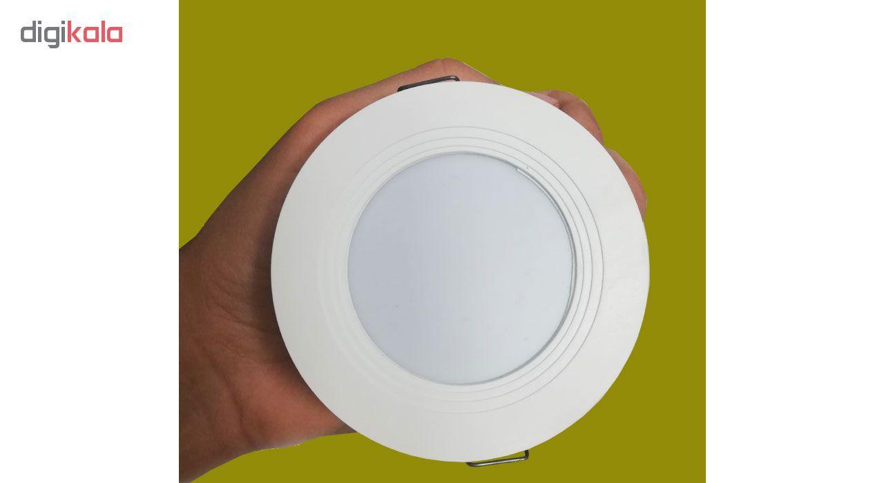 لامپ هالوژن ال ای دی سقفی توکار کد 034 بسته 4 عددی  main 1 3