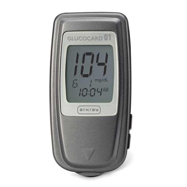 دستگاه تست قند خون آرکری مدل  glucocard 01