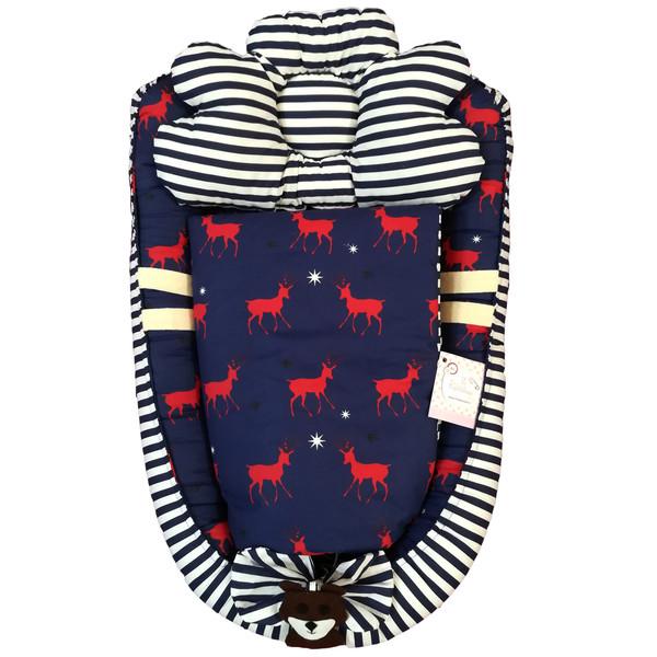 سرویس 3 تکه خواب نوزادی تاپ دوزانی مدل گودا