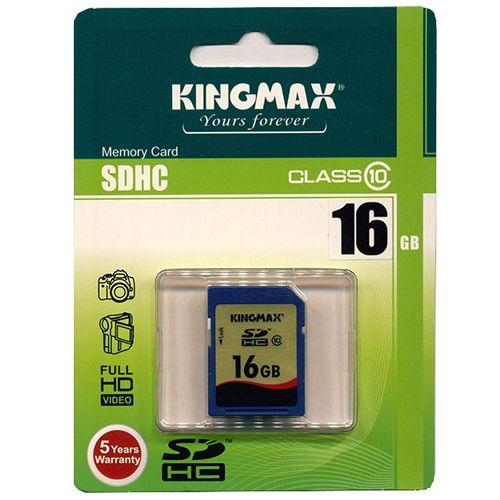 کارت حافظه SDHC کینگ مکس کلاس 10 ظرفیت 16 گیگابایت