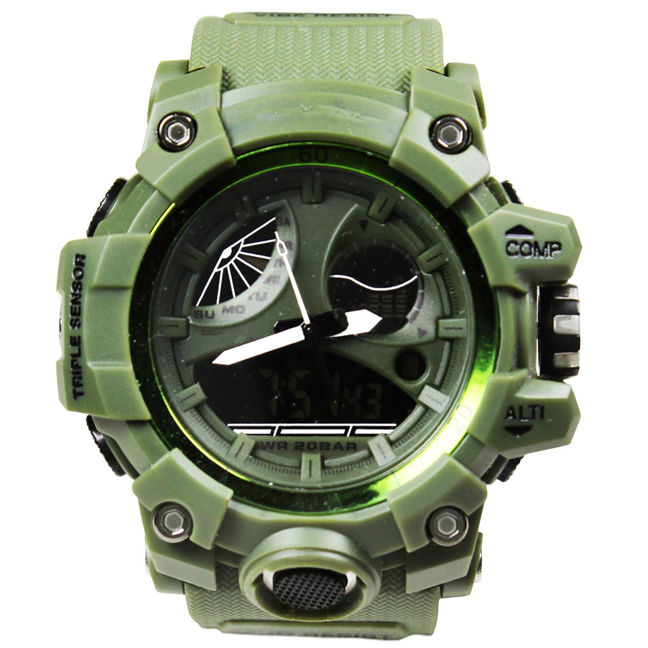 ساعت مچی عقربهای مردانه مدل G006 53