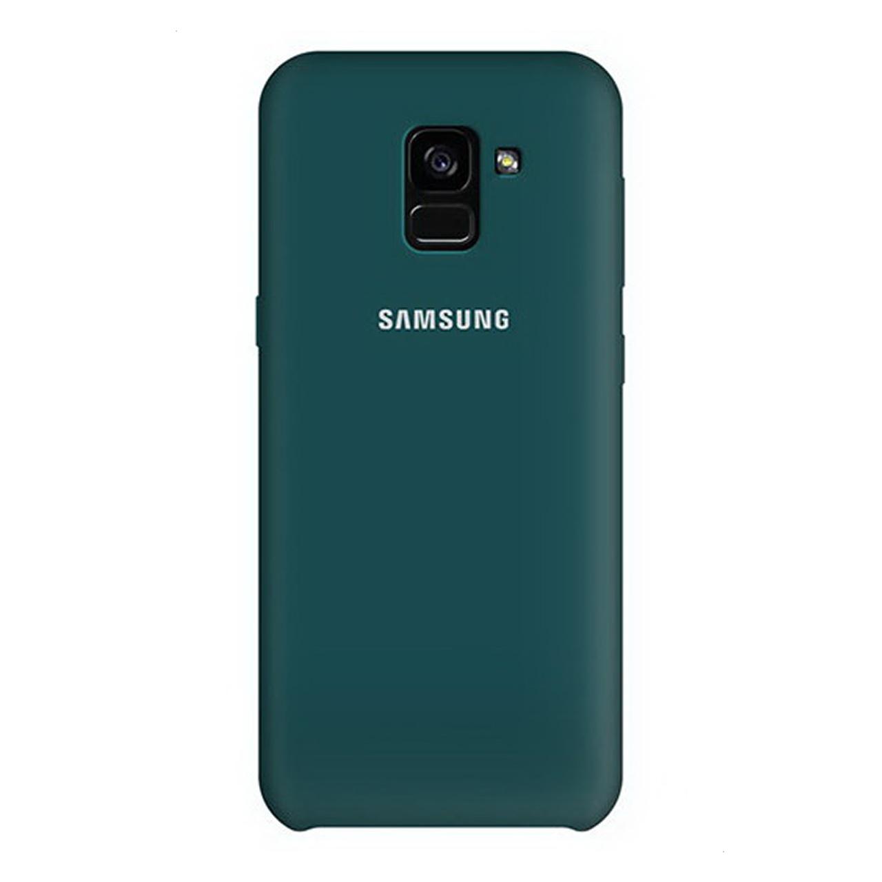 کاور سیلیکونی مدل SIC مناسب برای گوشی موبایل سامسونگ Galaxy A8 Plus 2018                     غیر اصل