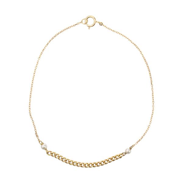 دستبند طلا 18 عیار زنانه نیوانی مدل DA818