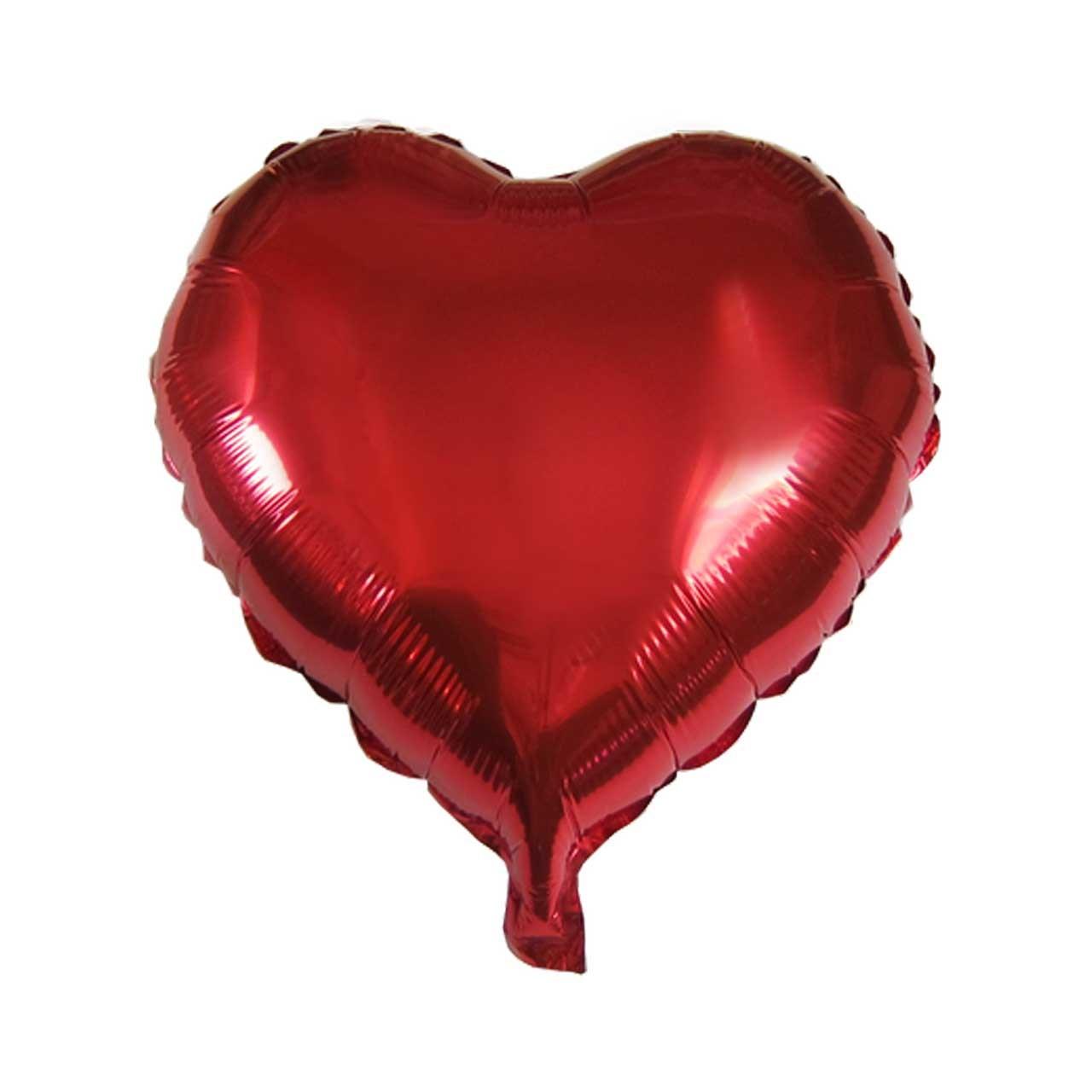 عکس بادکنک فویلی هپی شو مدل Heart سایز 40 سانتی متر