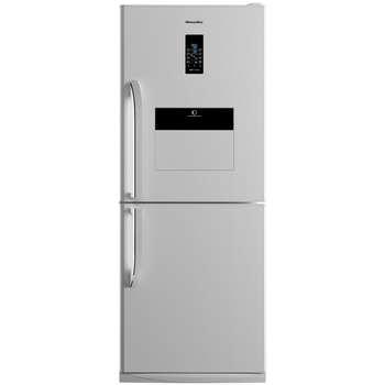 یخچال فریزر هیمالیا مدل کمبی 530 سفید چرمی نوفراست هوم بار | Himalia Combi-530 Leather White No Frost Refrigerator With Homebar
