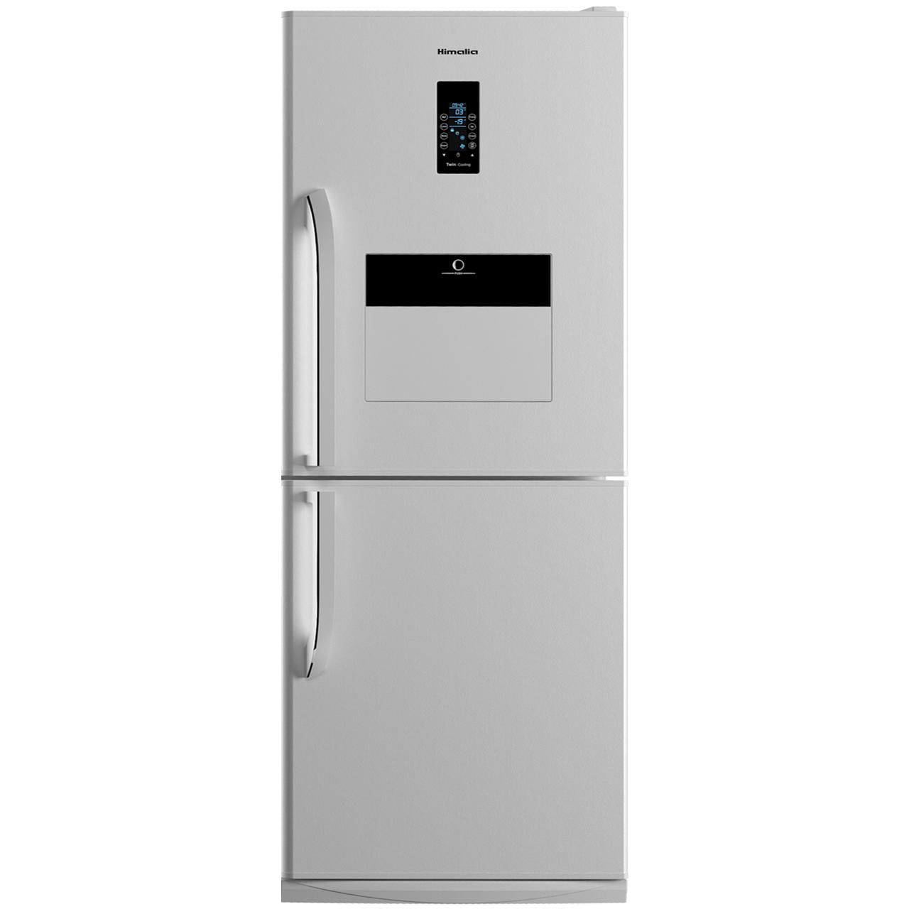 یخچال فریزر هیمالیا مدل کمبی 530 نقره ای نوفراست هوم بار | Himalia Combi-530 Silver No Frost Refrigerator With Homebar