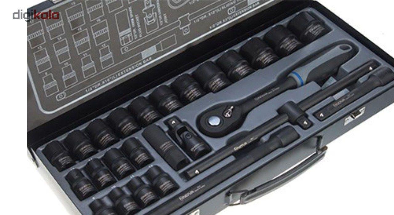 مجموعه 26 عددی آچار بکس 12 پر نووا مدل NTS-7000 main 1 2