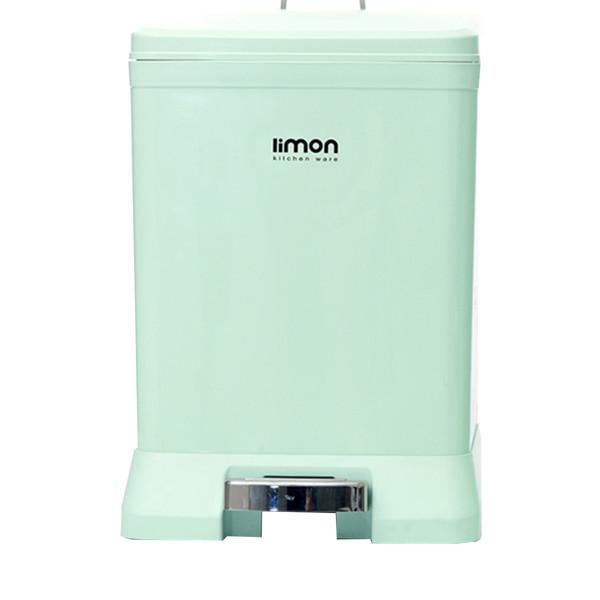 سطل زباله پدالی لیمون مدل آرام بند کد 7081
