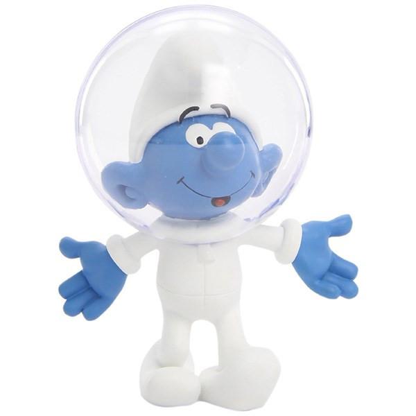عروسک اسمورف فضانورد پلستوی کد 00165 سایز 1