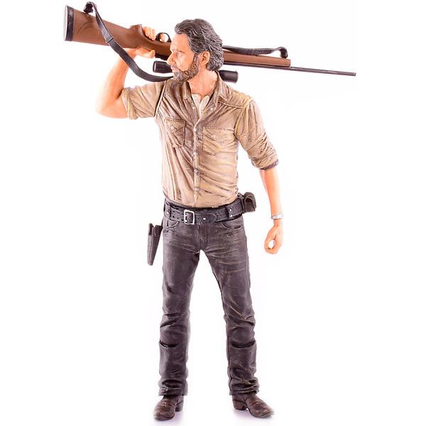 اکشن فیگور مک فارلین سری AMC Walking Dead مدل Rick Grimes Sniper