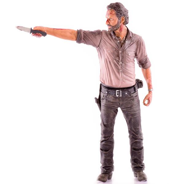 اکشن فیگور مک فارلین سری AMC Walking Dead مدل Rick Grimes Vigilante