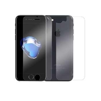 محافظ صفحه نمایش و پشت گلس پرو پلاس مدل Premium Tempered مناسب برای گوشی موبایل اپل iPhone 7/8