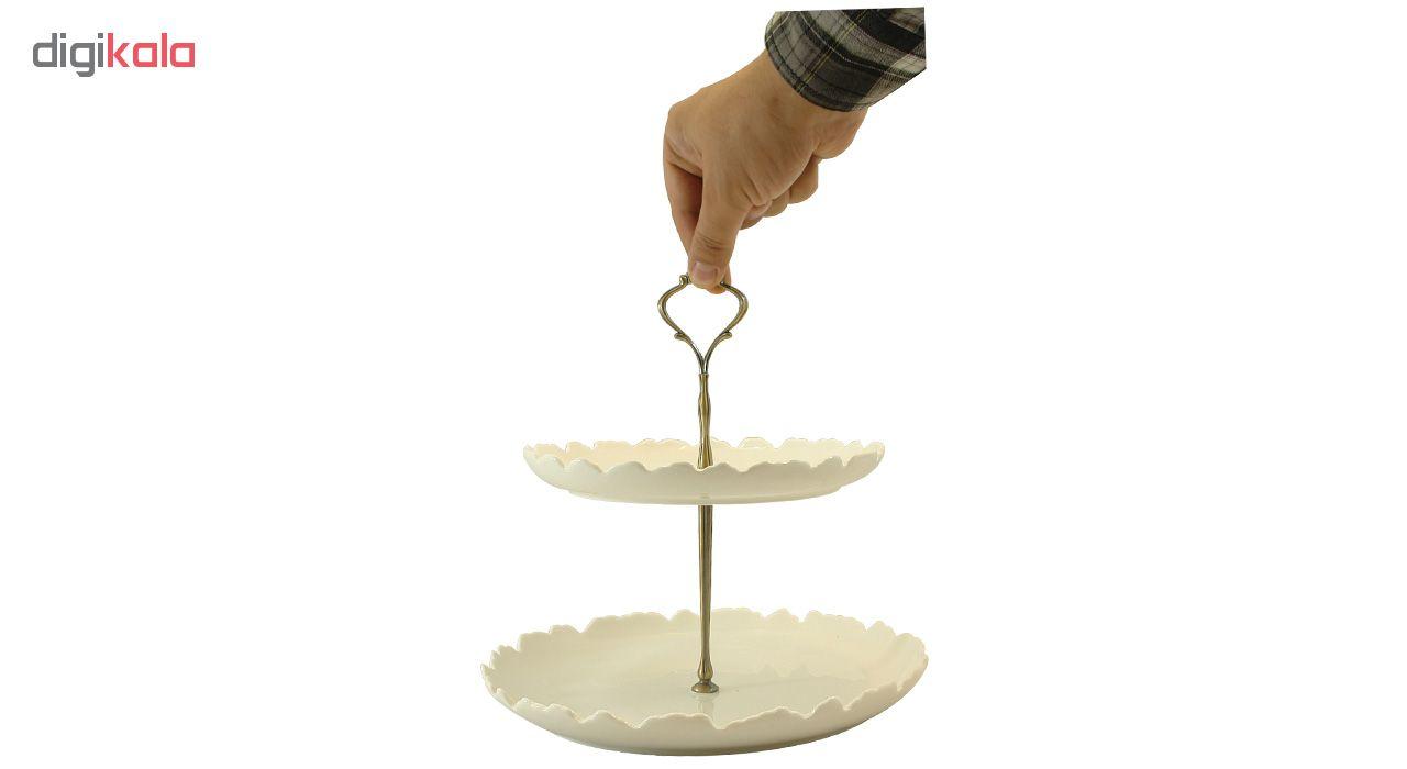 شیرینی خوری گلدکیش طرح الگانت مدل GK0973