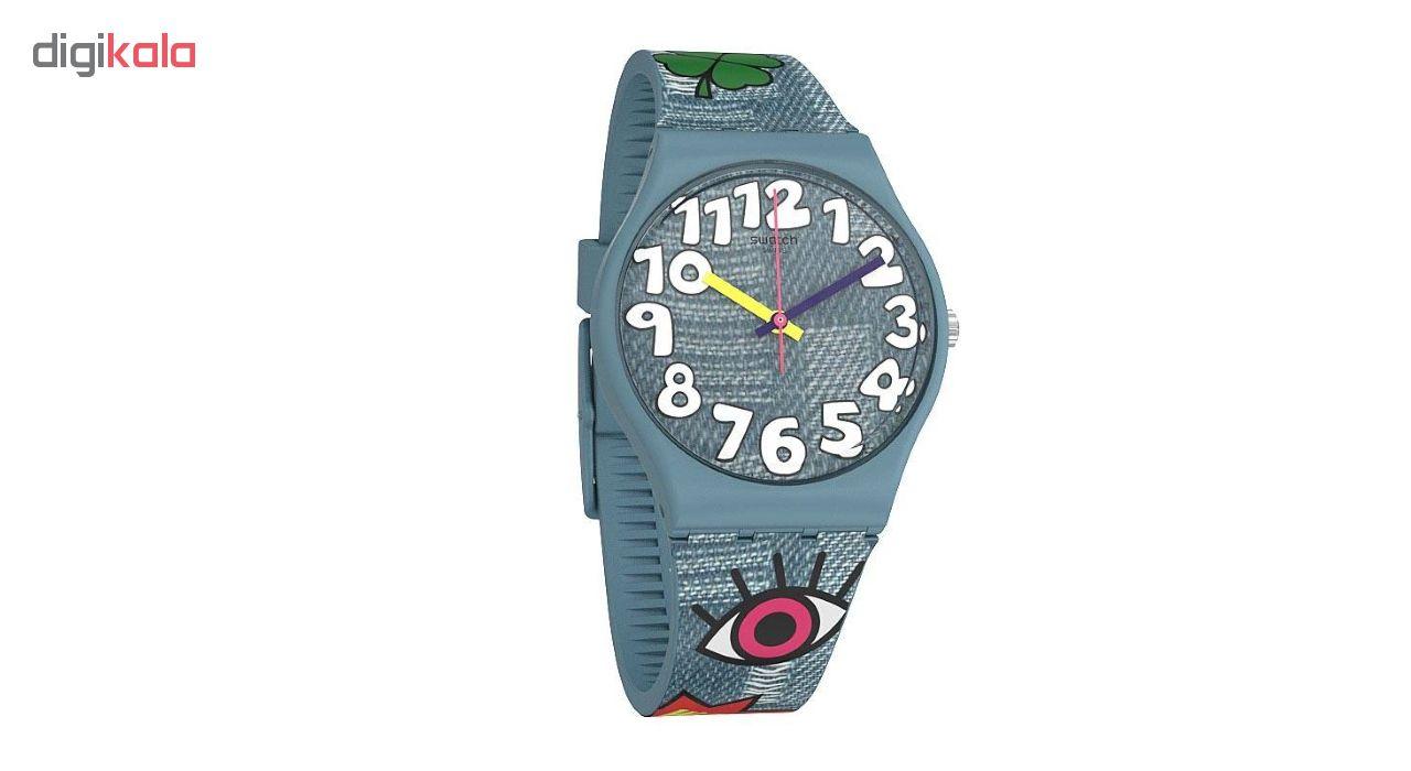 ساعت مچی عقربه ای بچگانه سواچ مدل GS155